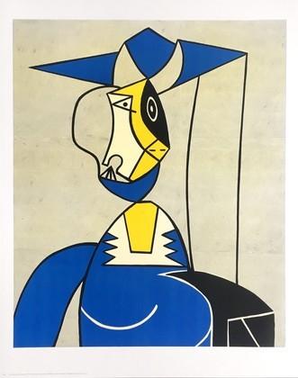 Roy Lichtenstein Frau mit Hut