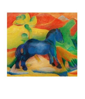 Franz Marc Blaues Pferdchen