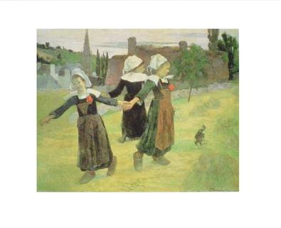 Paul Gauguin Femme bretonnes dansant