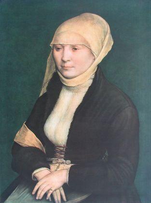 Hans Holbein Portrait einer jungen Frau