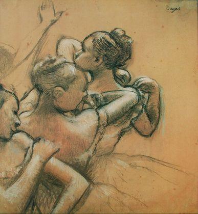 Edgar Degas Taenzerinnen  um 1896 99
