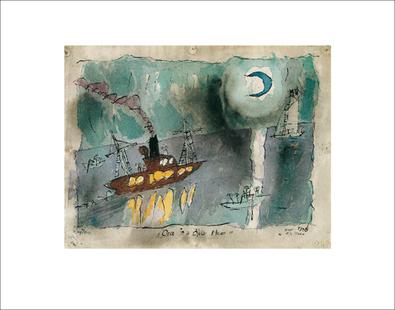 Lyonel Feininger Once in a blue moon, 1938