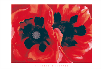 Georgia O'Keeffe Oriental poppies, 1928