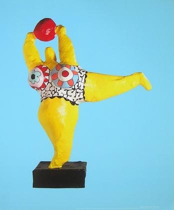 Niki de Saint Phalle Peril jaune