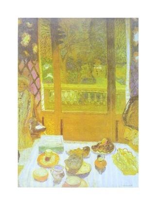 Pierre Bonnard Fruehstuecksraum
