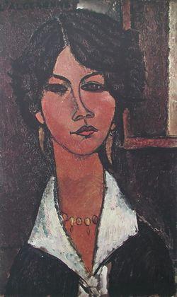 Amedeo Modigliani Die Algerierin