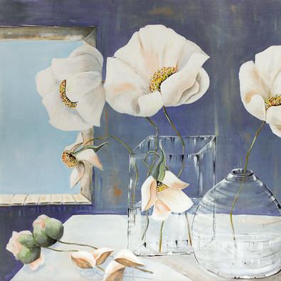 Annelies Buergin White Flowers - Variation 2