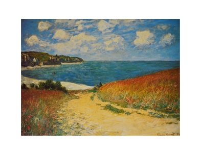 Claude Monet Strand in Pourville