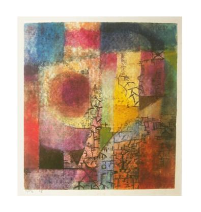 Paul Klee ohne Titel, 1914, Aquarell und Feder