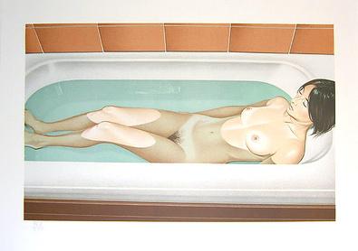 Mel Ramos Bonnards Bath 1979