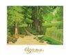 Cezanne paul die allee jas de bouffan medium