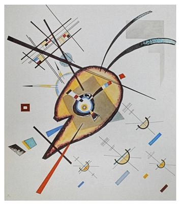 Wassily Kandinsky Aquarell Nr 76, 1923