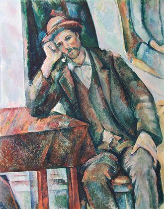 Paul Cezanne Der Raucher