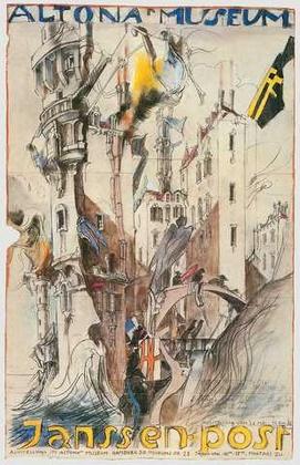 Horst Janssen Altonaer Museum handsigniert