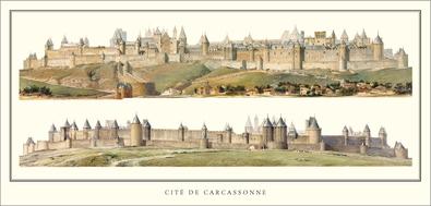 Eugene Viollet-le-Duc Cite de Carcassonne