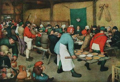 Pieter Brueghel Die Bauernhochzeit