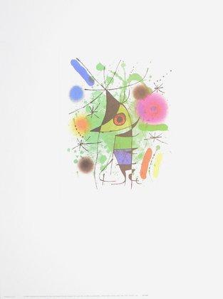 Joan Miro Der singende Fisch