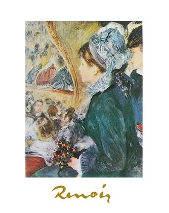 Pierre Auguste Renoir Ein schoener Abend im Theater