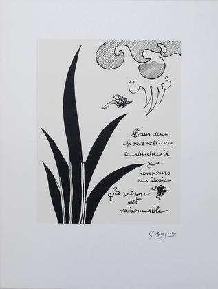 Georges Braque Dans Deux Choses Estime