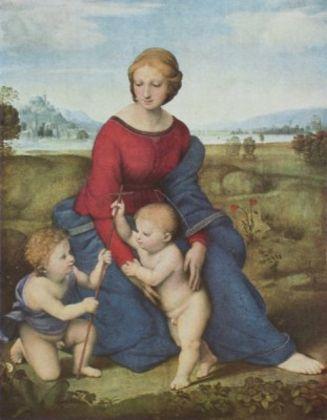 Raphael Die Madonna im Gruenen