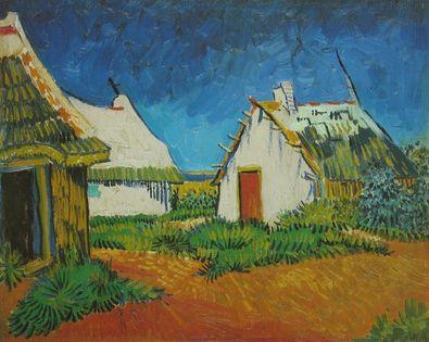 Vincent van Gogh Weisses Landhaus in Saintes Maries   1888