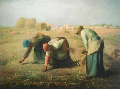 Jean Francois Millet Die aehrenleser