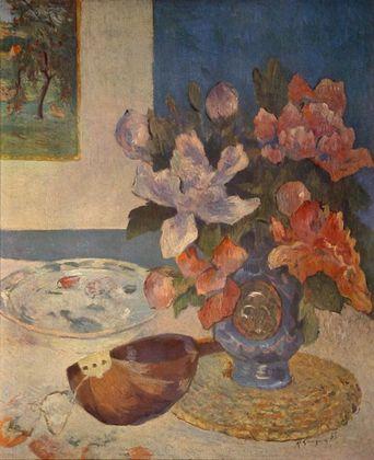 Paul Gauguin Stilleben mit Mandoline