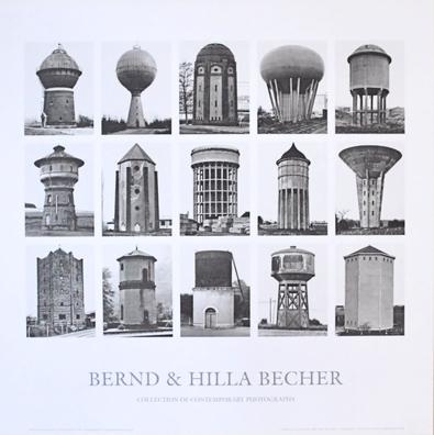 Bernd und Hilla Becher Wassertuerme