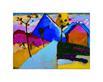 Kandinsky wassily kochel gerade strasse herbst 1909 l