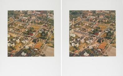 Thomas Ruff 3-D New York (Bronx), 1998 - 2 Blatt