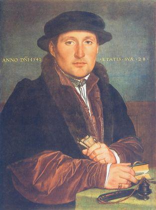 Hans Holbein Bildnis eines Mannes