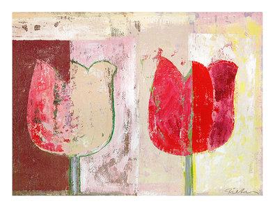 Pieter L. Schotmann 2er Set 'Tulip Variations I-II'