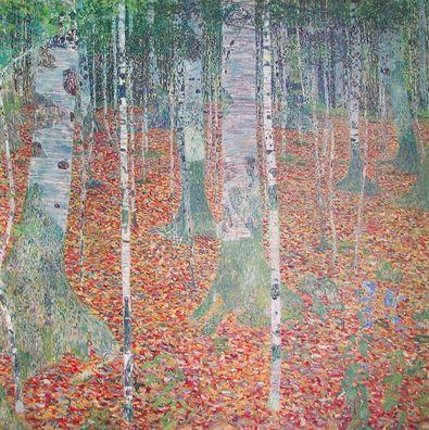 Gustav Klimt Birkenwald