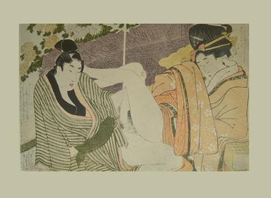 Kitagawa Utamaro Erotische Holzschnitte I