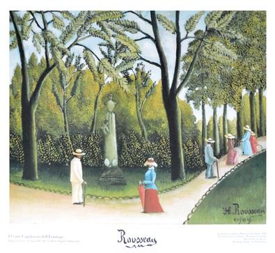 Henri Rousseau Garten von Luxemburg