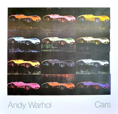 Andy Warhol Cars Formula I Car W 196 R Bj. 1954  x12