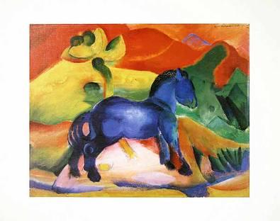 Franz Marc Das blaue Pferdchen