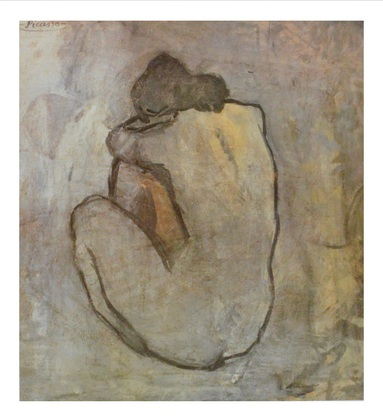Pablo Picasso Rueckenakt