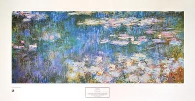 Claude Monet Wasserlilien