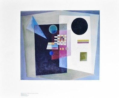 Wassily Kandinsky Behauptend (1926)
