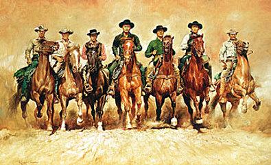 Renato Casaro The magnificent Seven