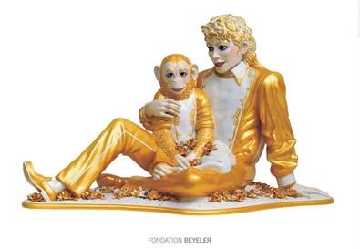 Jeff Koons Michael Jackson and Bubbles