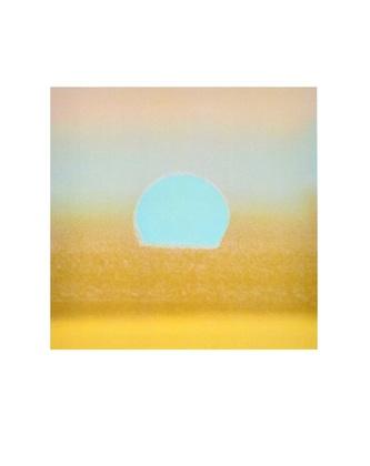 Andy Warhol Sunset, 1972 (gold)