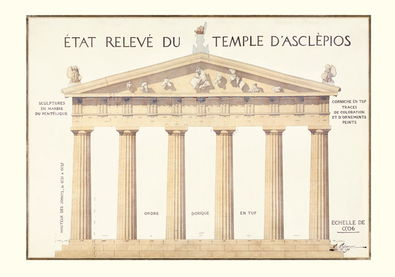 Epidauros Asklepios Tempel