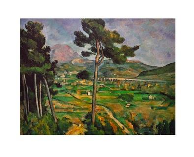 Paul Cezanne Montagne Sainte-Victoire