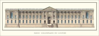 Perrault claude paris louvre colonnade large