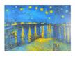 Vincent van Gogh Sternennacht ueber der Rhone