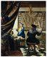 Vermeer johannes der kuenstler in seinem atelier medium