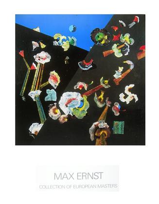 Max Ernst Fleurs de Neige