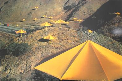 Christo The Umbrellas, Californien 1984 - 91